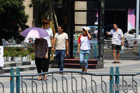 乐山城区地表温度高达52.8℃ 雨已在路上广州搬运公司